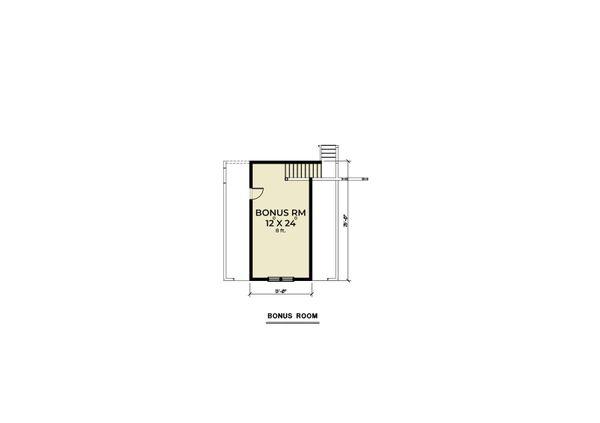 Architectural House Design - Craftsman Floor Plan - Upper Floor Plan #1070-114
