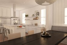 modern craftsman kitchen rendering