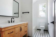 Craftsman Interior - Bathroom Plan #461-73