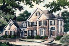 Dream House Plan - European Exterior - Front Elevation Plan #429-12