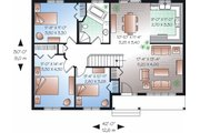 Ranch Style House Plan - 3 Beds 1 Baths 1180 Sq/Ft Plan #23-779