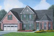 Traditional Style House Plan - 4 Beds 3 Baths 2216 Sq/Ft Plan #424-26 Exterior - Front Elevation