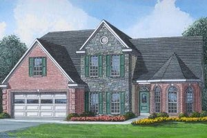 Traditional Exterior - Front Elevation Plan #424-26