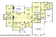 Farmhouse Style House Plan - 3 Beds 2.5 Baths 2920 Sq/Ft Plan #430-185 Floor Plan - Other Floor Plan