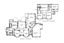 Traditional Floor Plan - Main Floor Plan Plan #935-16
