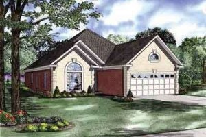 Traditional Exterior - Front Elevation Plan #17-102