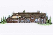 Home Plan - Craftsman Exterior - Front Elevation Plan #5-345