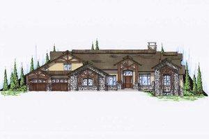 Craftsman Exterior - Front Elevation Plan #5-345