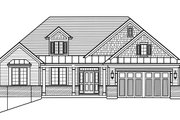 Traditional Style House Plan - 3 Beds 2.5 Baths 1814 Sq/Ft Plan #46-894 Exterior - Front Elevation