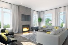 Dream House Plan - Contemporary Interior - Family Room Plan #23-2314