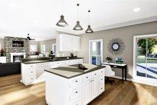 Farmhouse Interior - Kitchen Plan #44-233