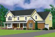 Traditional Style House Plan - 4 Beds 2.5 Baths 2391 Sq/Ft Plan #72-480 Exterior - Front Elevation