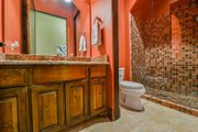 Mediterranean Style House Plan - 4 Beds 5 Baths 4320 Sq/Ft Plan #80-199 Interior - Bathroom