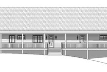 Country Exterior - Rear Elevation Plan #932-175