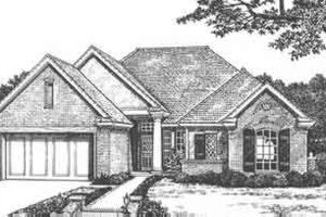 Traditional Exterior - Front Elevation Plan #310-426