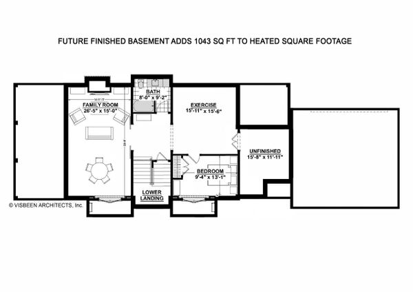 Farmhouse Floor Plan - Other Floor Plan Plan #928-323