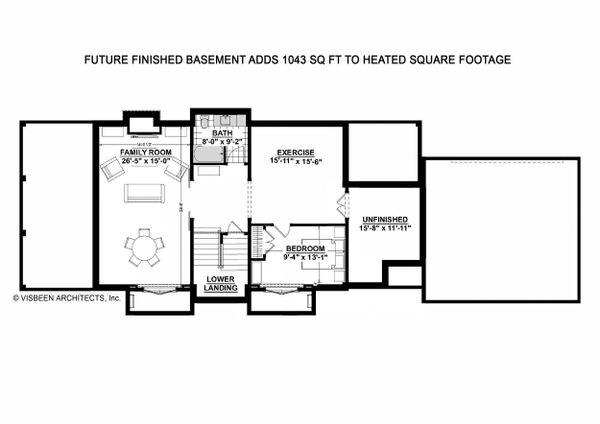 Farmhouse Floor Plan - Other Floor Plan #928-323