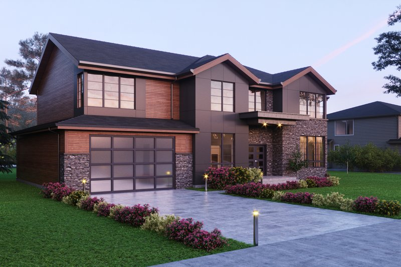 House Plan Design - Traditional Exterior - Front Elevation Plan #1066-60