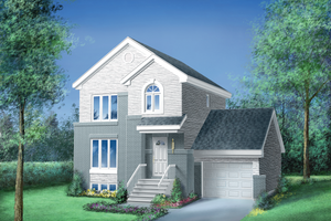 Traditional Exterior - Front Elevation Plan #25-2157