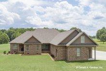 Home Plan - Ranch Exterior - Rear Elevation Plan #929-1059