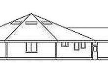 House Plan Design - Contemporary Exterior - Rear Elevation Plan #60-640