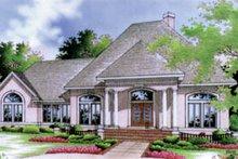 Home Plan Design - European Exterior - Front Elevation Plan #45-120