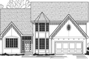Traditional Exterior - Front Elevation Plan #67-789