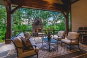 Craftsman Style House Plan - 4 Beds 3.5 Baths 2482 Sq/Ft Plan #120-184 Exterior - Outdoor Living