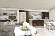 Modern Style House Plan - 3 Beds 2 Baths 1356 Sq/Ft Plan #497-35 Interior - Other