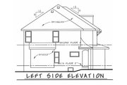 European Style House Plan - 4 Beds 2.5 Baths 2301 Sq/Ft Plan #20-2140 Exterior - Other Elevation