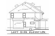 European Style House Plan - 4 Beds 2.5 Baths 2301 Sq/Ft Plan #20-2140