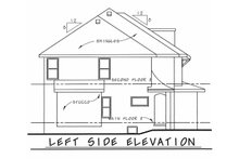 Home Plan - European Exterior - Other Elevation Plan #20-2140