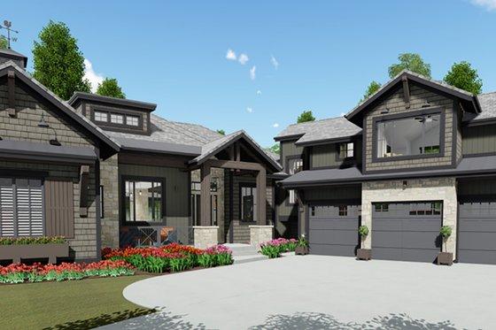 Farmhouse Exterior - Front Elevation Plan #1069-21