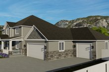 Architectural House Design - Traditional Exterior - Other Elevation Plan #1060-8