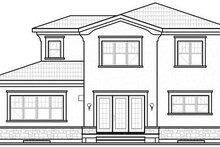 Dream House Plan - Mediterranean Exterior - Rear Elevation Plan #23-728