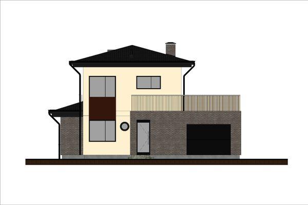 Contemporary Floor Plan - Other Floor Plan Plan #906-8