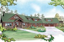 Craftsman Exterior - Front Elevation Plan #124-925