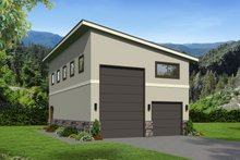 Dream House Plan - Contemporary Exterior - Front Elevation Plan #932-246