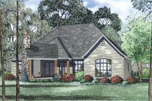 Home Plan - European Exterior - Other Elevation Plan #17-2522