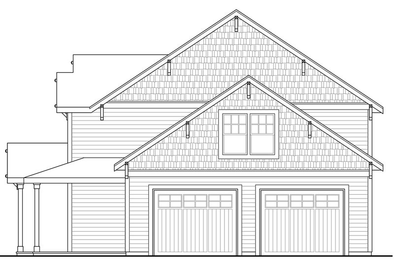 Country Exterior - Other Elevation Plan #124-968 - Houseplans.com