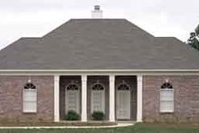 Southern Exterior - Front Elevation Plan #45-230