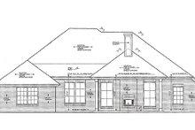 Dream House Plan - European Exterior - Rear Elevation Plan #310-969