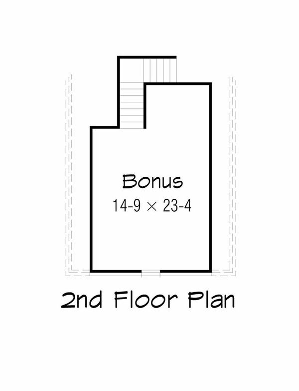 Floor Plan - Other Floor Plan Plan #329-349