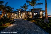 Contemporary Style House Plan - 5 Beds 5.5 Baths 7466 Sq/Ft Plan #930-513