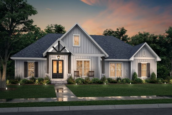 Traditional Exterior - Front Elevation Plan #430-255