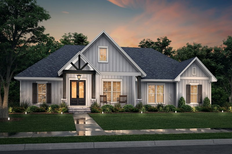 Dream House Plan - Traditional Exterior - Front Elevation Plan #430-255