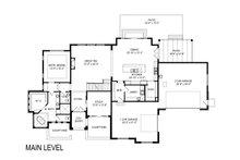 European Floor Plan - Main Floor Plan Plan #920-107