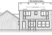Home Plan Design - Colonial Exterior - Rear Elevation Plan #98-210
