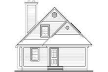 House Plan Design - Farmhouse Exterior - Rear Elevation Plan #23-495