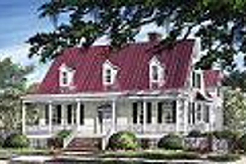 Country Exterior - Other Elevation Plan #137-191 - Houseplans.com